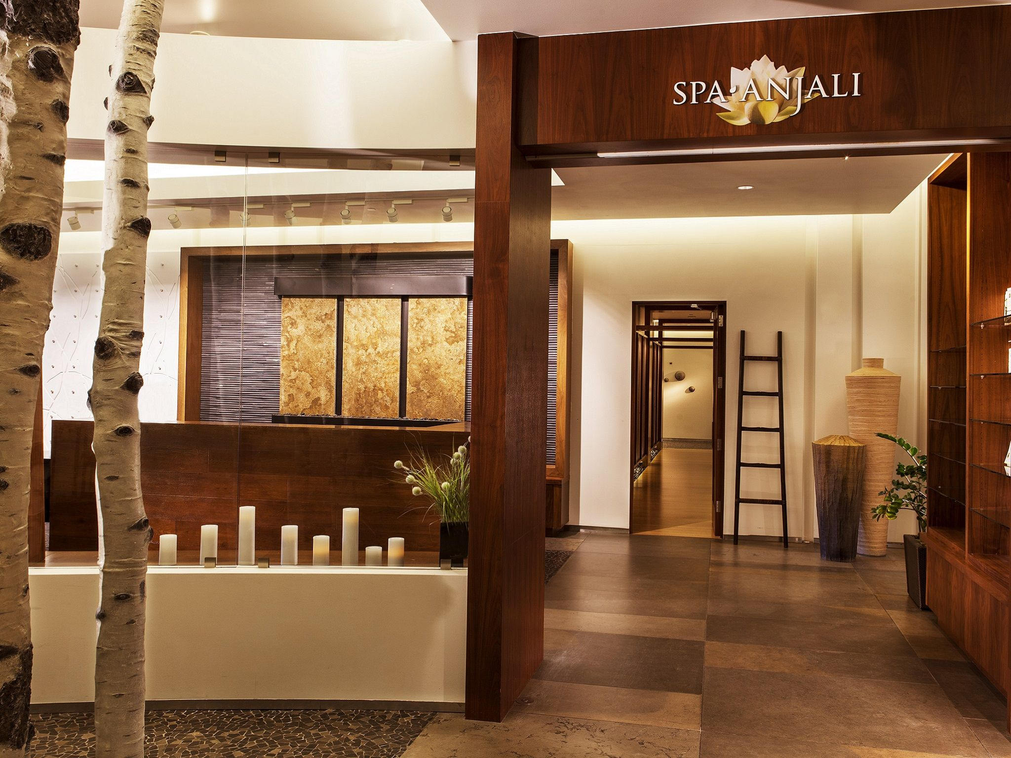 entrace to beaver creek spa anjali